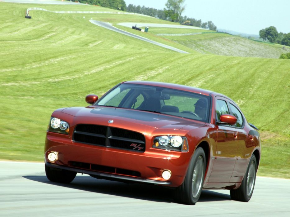 2006-09 Dodge Charger R -T Daytona (LX) muscle   r wallpaper