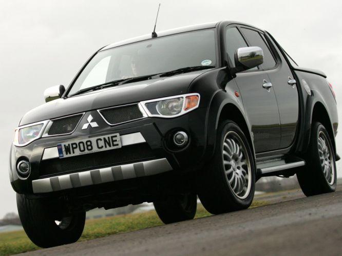 2006-10 Walkinshaw-Performance Mitsubishi L200 Double Cab pickup suv tuning wq wallpaper