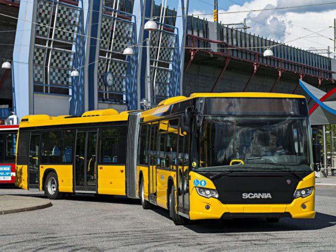2012 Scania Citywide LFA bus transport semi tractor f wallpaper