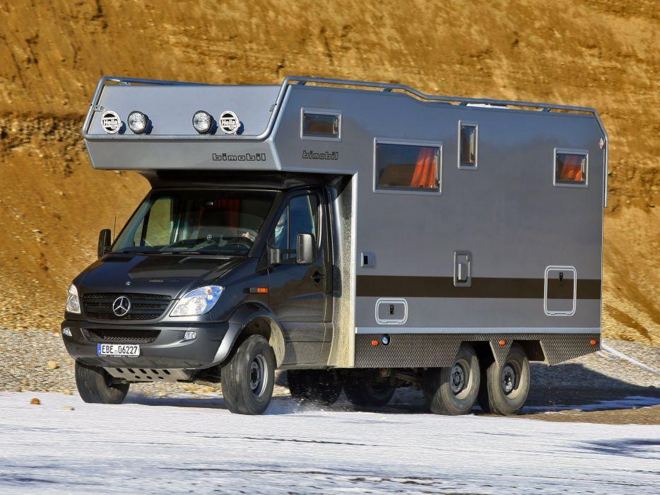 2014 Bimobil EX 510 (906) mercedes benz motorhome camper f wallpaper
