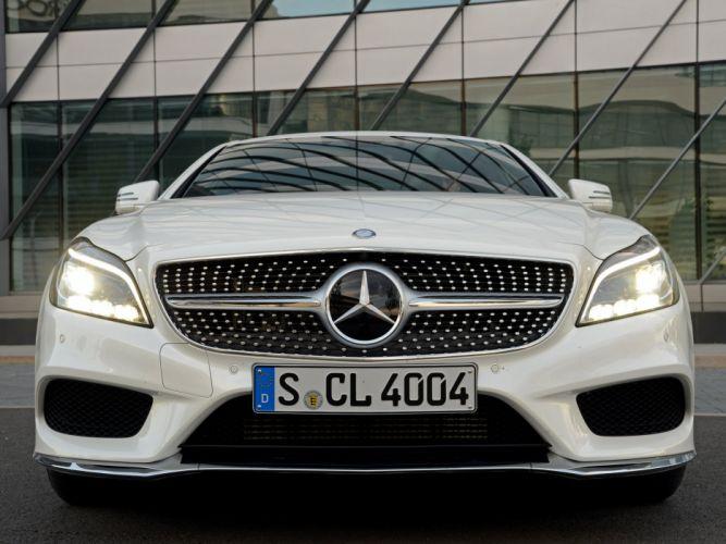2014 Mercedes Benz CLS 250 BlueTec AMG Sports Package (C218) g wallpaper