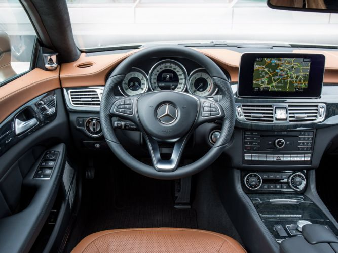 2014 Mercedes Benz CLS 350 BlueTec Shooting Brake (X218) stationwagon g wallpaper