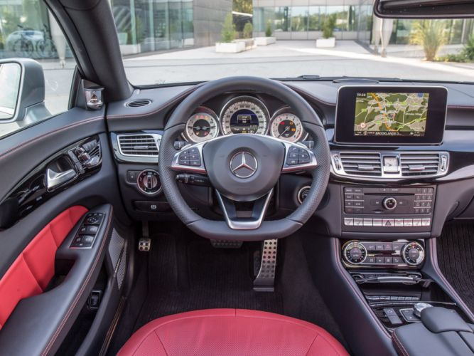 2014 Mercedes Benz CLS 400 AMG Sports Package (C218) d wallpaper