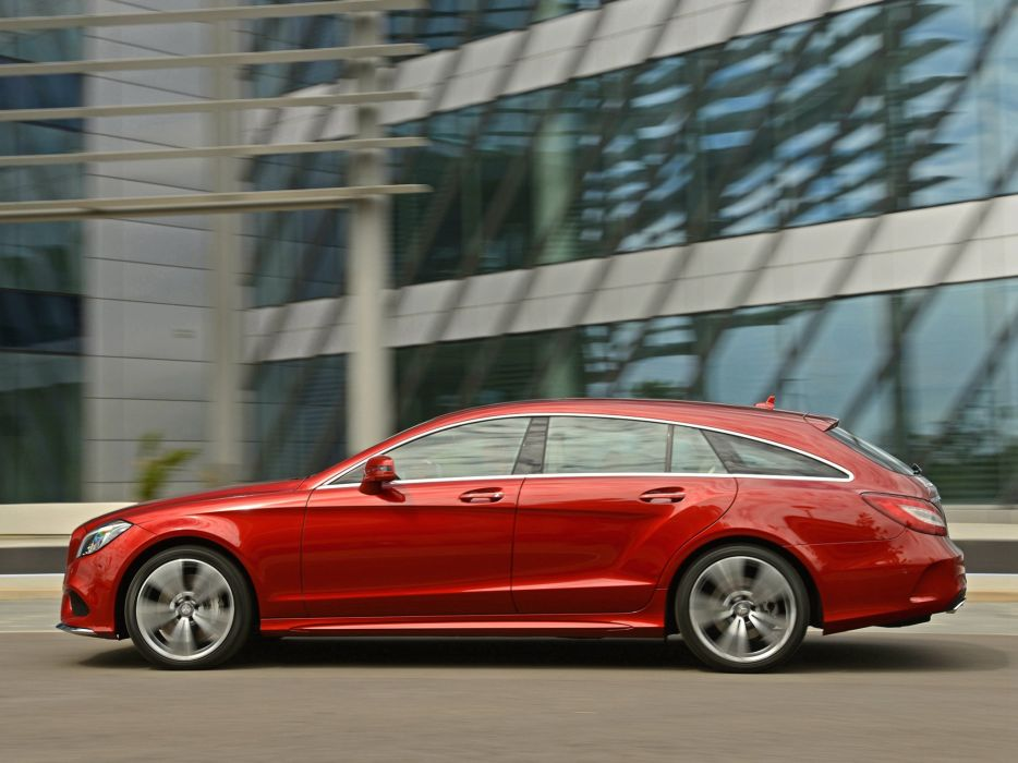 2014 Mercedes Benz CLS 500 Shooting Brake AMG Sports Package (X218) stationwagon   f wallpaper