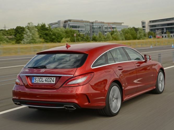 2014 Mercedes Benz CLS 500 Shooting Brake AMG Sports Package (X218) stationwagon r wallpaper