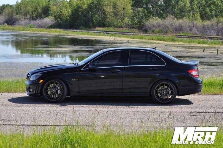Mercedes-C63-AMG-tuning wallpaper