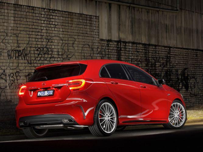 Mercedes-A45-AMG wallpaper