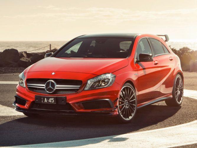 AMG-Mercedes-A45-Edition wallpaper