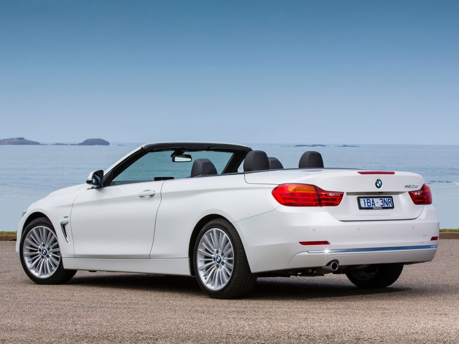 BMW-4-Series-420d-Cabrio-Luxury-Line wallpaper