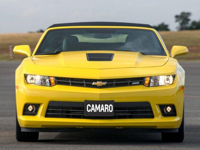 Chevrolet-Camaro-SS-Convertible-2014 wallpaper