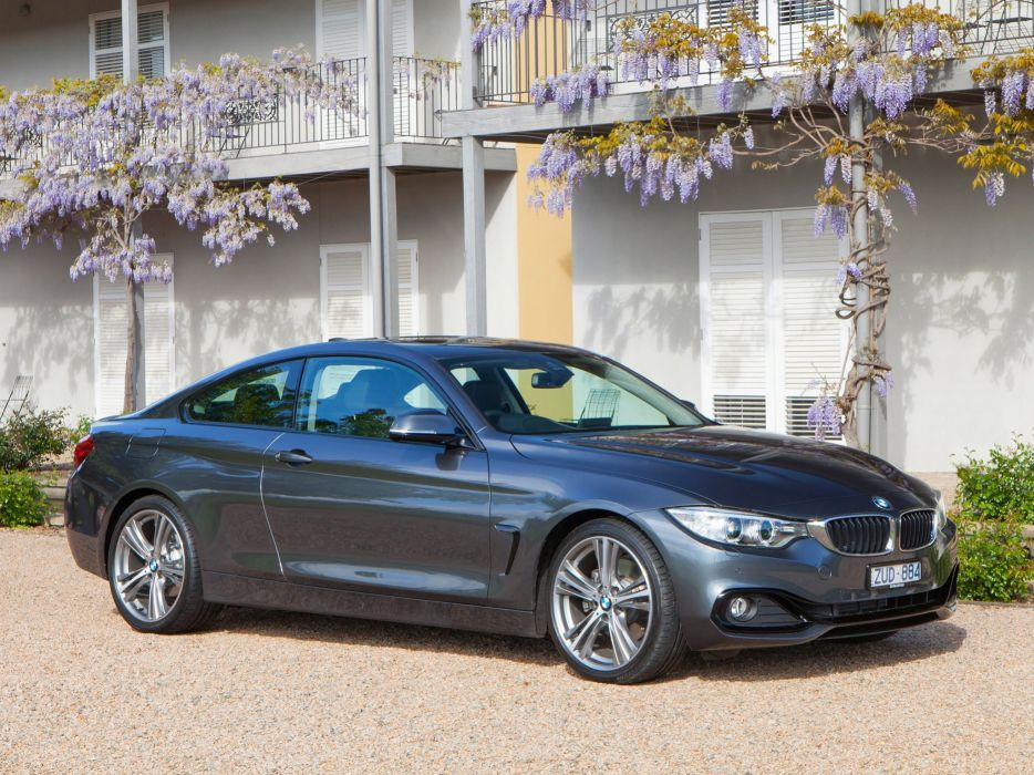 BMW-4-Series-428i-Coupe-Sport-Line wallpaper