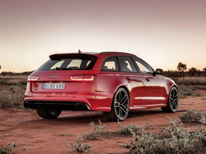 Audi-RS6-Avant wallpaper