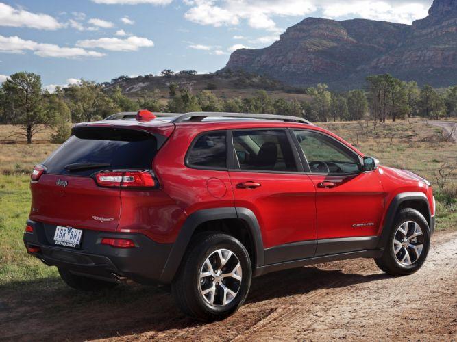 Jeep-Cherokee-Trailhawk-Australia-2014 wallpaper