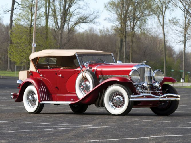 1934 Duesenberg S-J 523-2552 Dual Cowl Phaeton SWB LaGrande-Union City luxury retro d wallpaper