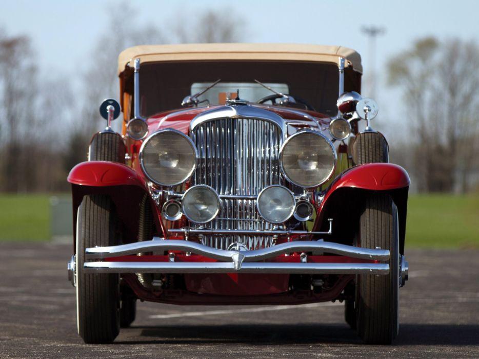 1934 Duesenberg S-J 523-2552 Dual Cowl Phaeton SWB LaGrande-Union City luxury retro    d wallpaper