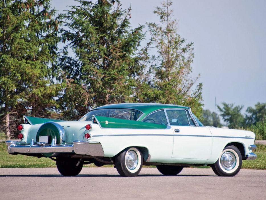 1957 Dodge Coronet 2-door Lancer (D66) retro   h wallpaper