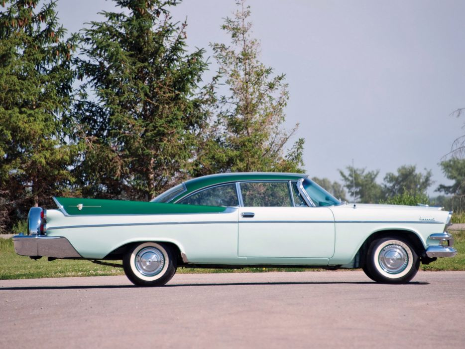 1957 Dodge Coronet 2-door Lancer (D66) retro   g wallpaper