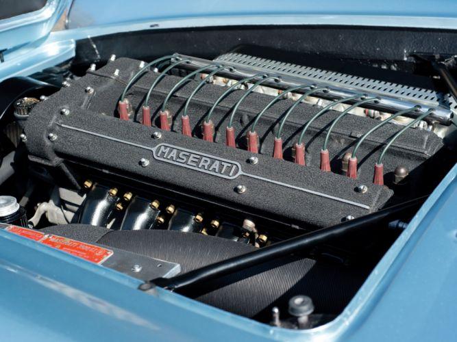 1959-64 Maserati 3500 Spyder retro classic fs wallpaper