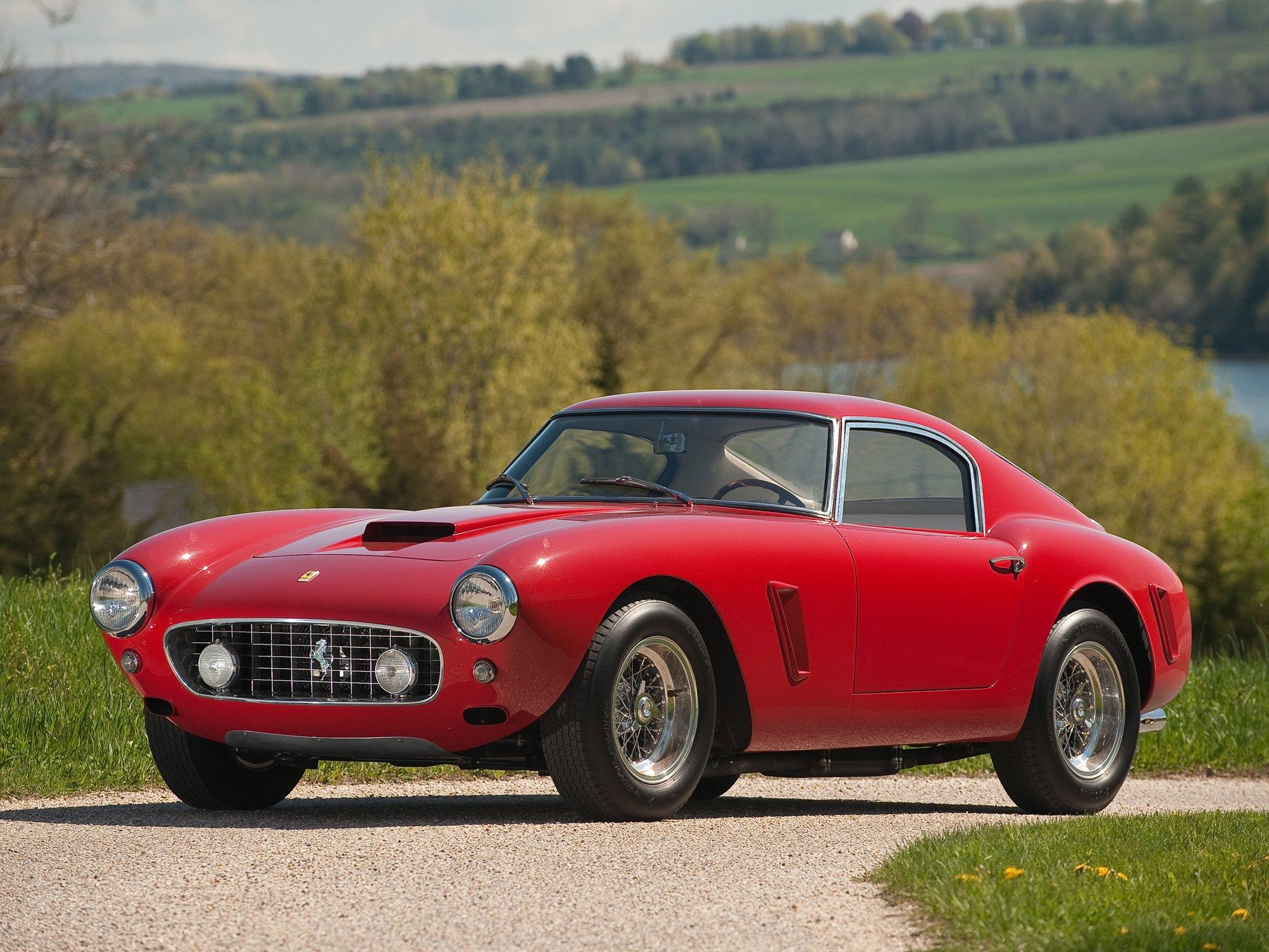 1961 Ferrari 250 G T Swb Berlinetta Xupercar Classic E Wallpaper 2048x1536 384871 Wallpaperup