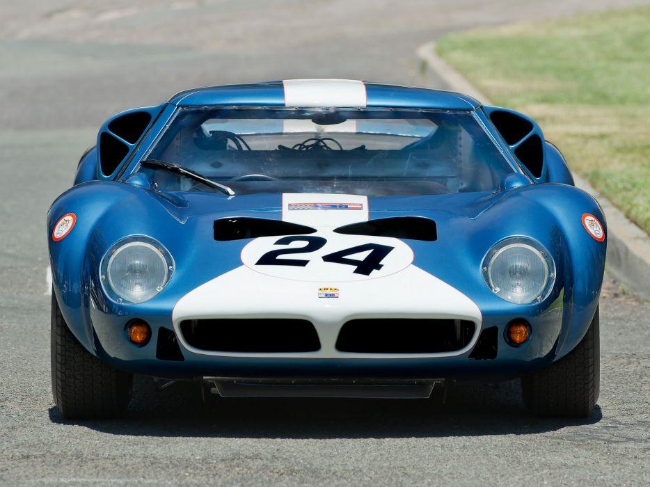 1963 Lola MkVI G-T race racing classic le-mans  g wallpaper