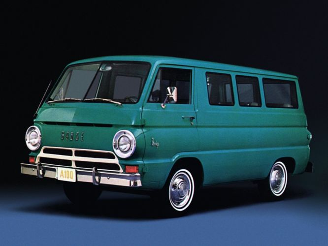 1966 Dodge A-100 Sportsman van classic d wallpaper