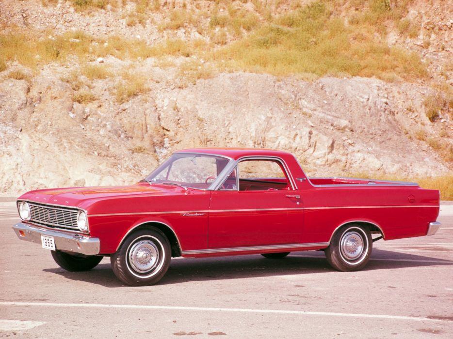 1966 Ford Ranchero Custom Pickup (66B)    f wallpaper