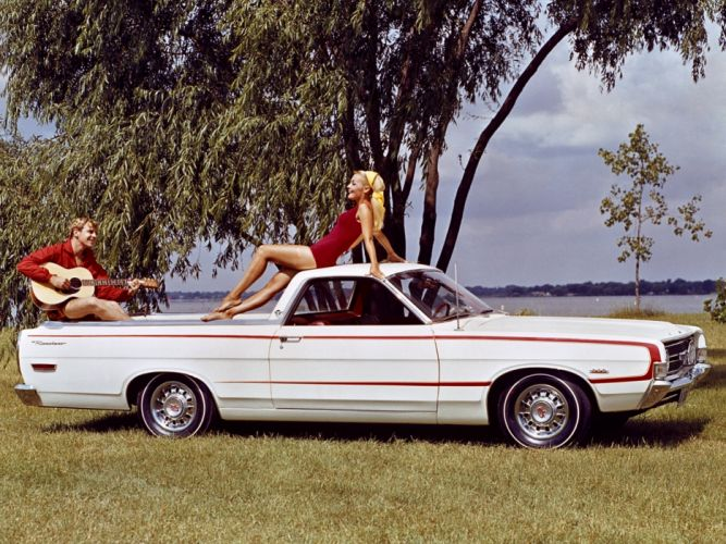 1968 Ford Ranchero G-T pickup muscle classic f wallpaper