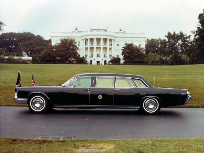 1969 Lincoln Continental Presidential Limousine luxury armored f wallpaper