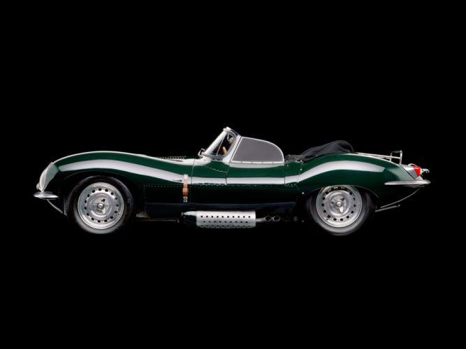 1957 Jaguar XK-SS retro supercar f wallpaper