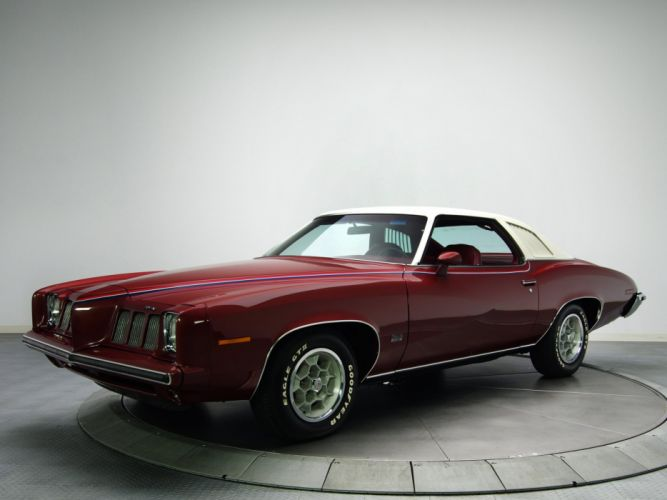 1973 Pontiac Grand-Am DAolonnade Hardtop Coupe (H37) classic r wallpaper