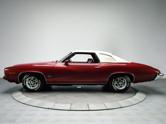 1973 Pontiac Grand-Am DAolonnade Hardtop Coupe (H37) classic fs wallpaper