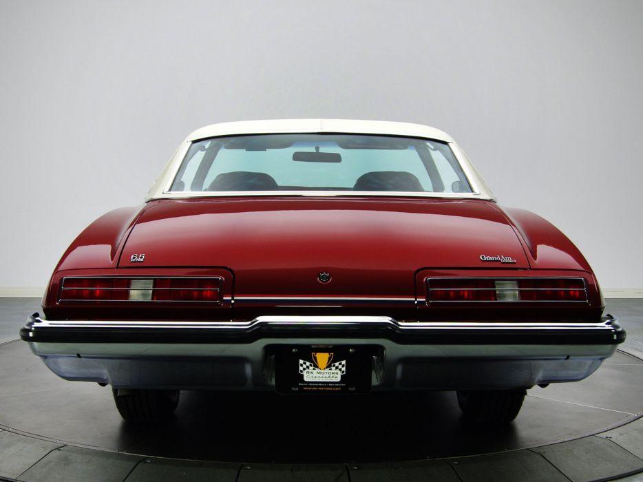 1973 Pontiac Grand-Am DAolonnade Hardtop Coupe (H37) classic g wallpaper