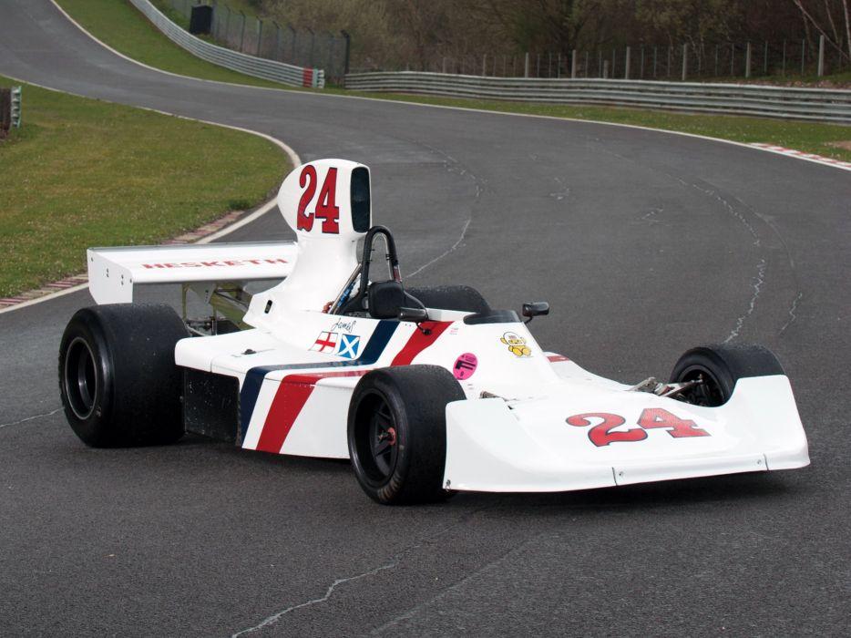 1975 Hesketh 308B formula f-1 race racing  fs wallpaper