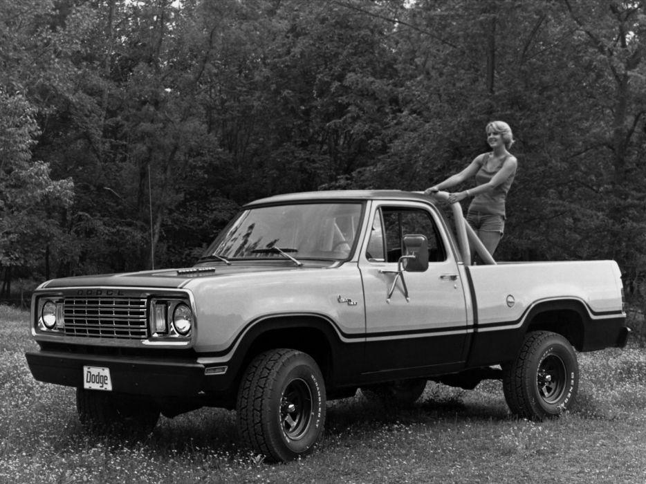 1978 Dodge W150 Power Wagon Sweptline pickup 4x4       f wallpaper