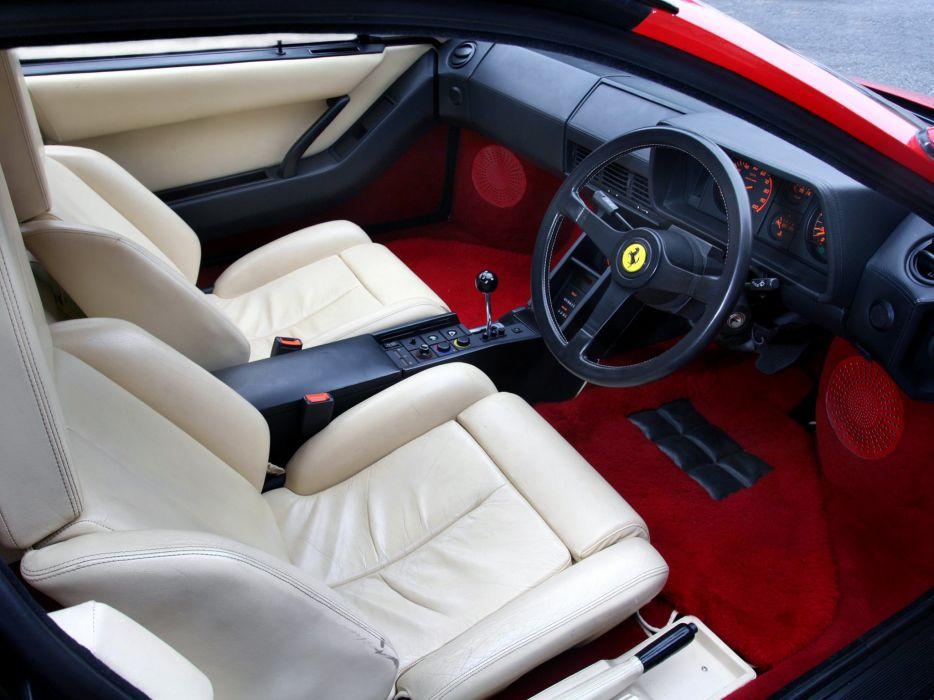 1984-86 Ferrari Testarossa UK-spec supercar  f wallpaper