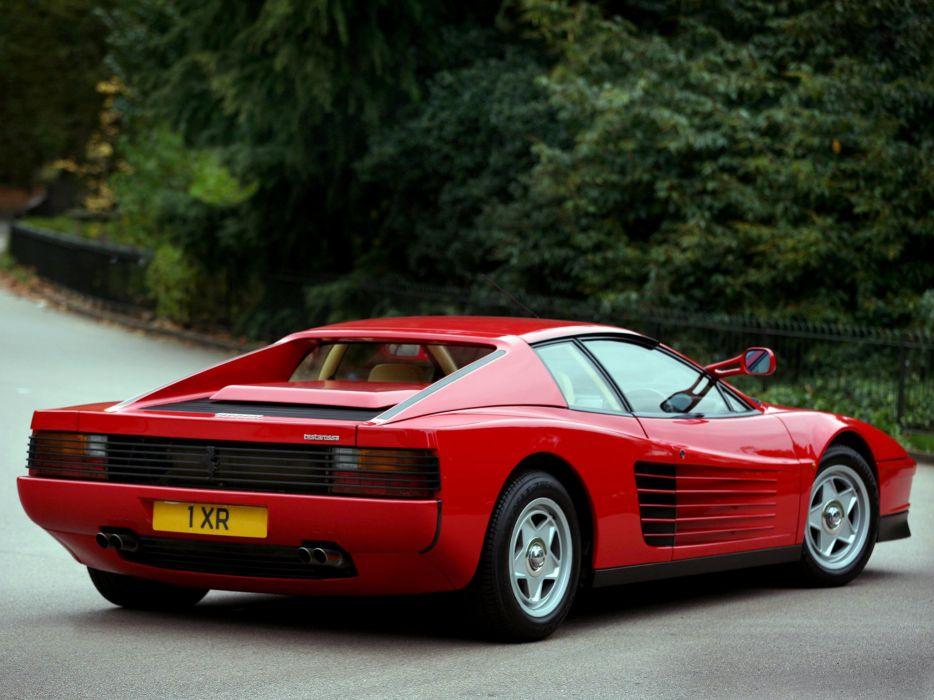 1984-86 Ferrari Testarossa UK-spec supercar f wallpaper | 2048x1536