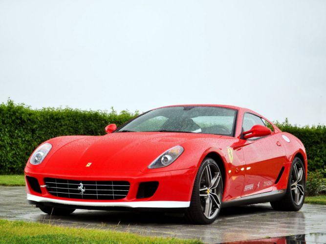 2011 Ferrari 599 GTB 60F1 supercar f wallpaper