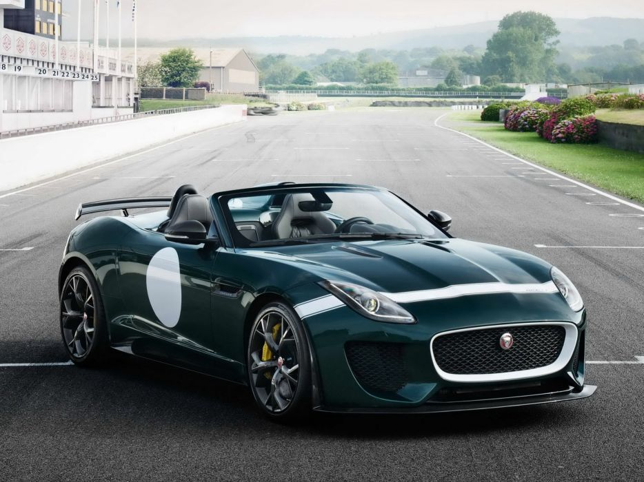 2014 Jaguar F-Type Project-7 tuning race racing   r wallpaper