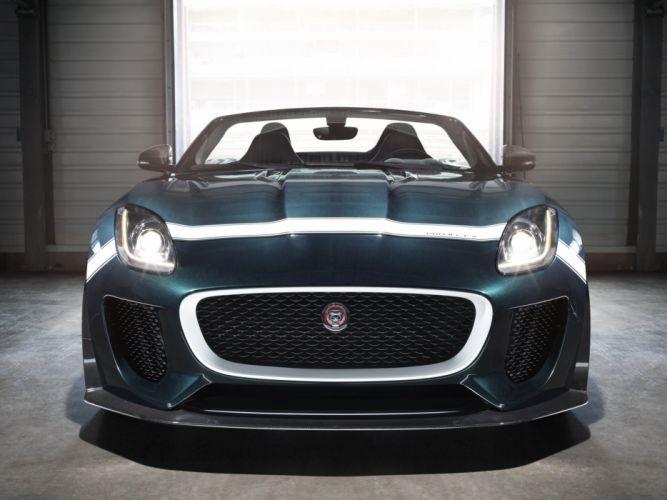 2014 Jaguar F-Type Project-7 tuning race racing t wallpaper