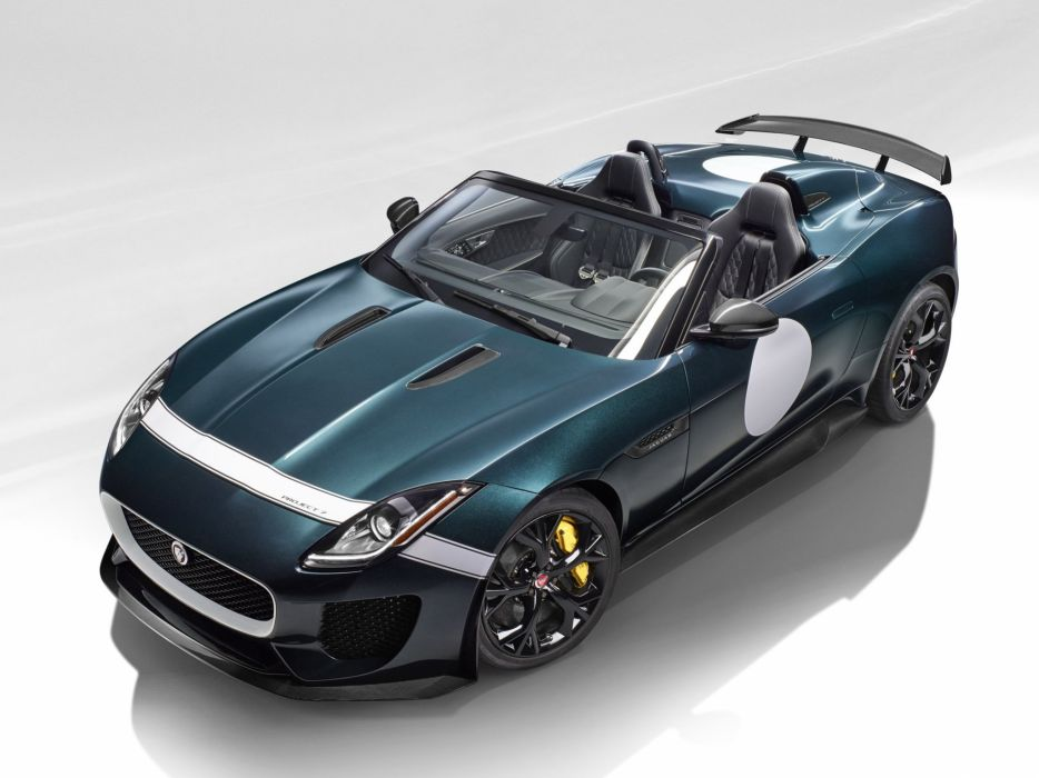 2014 Jaguar F-Type Project-7 tuning race racing  e wallpaper