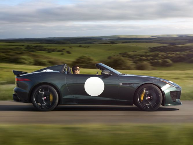 2014 Jaguar F-Type Project-7 tuning race racing w wallpaper