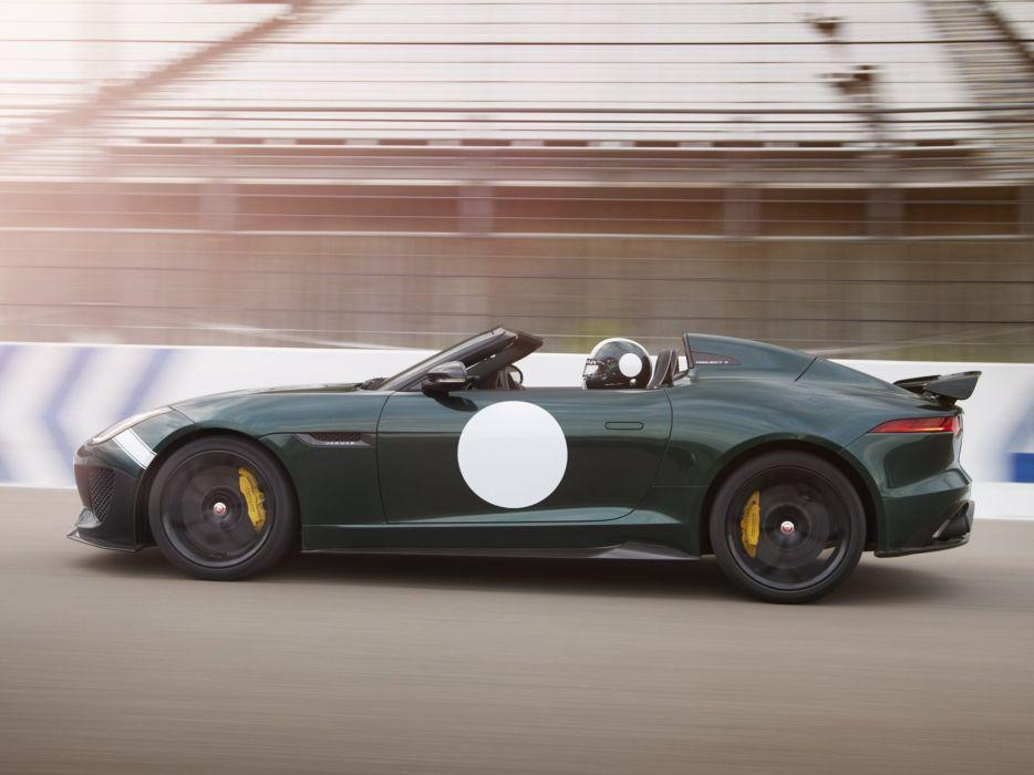 2014 Jaguar F-Type Project-7 tuning race racing w wallpaper