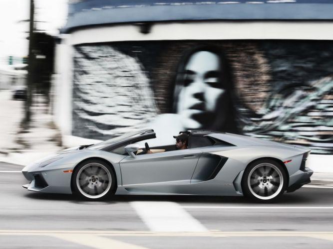 2014 Lamborghini Aventador LP700-4 Roadster US-spec (LB834) supercar gd wallpaper