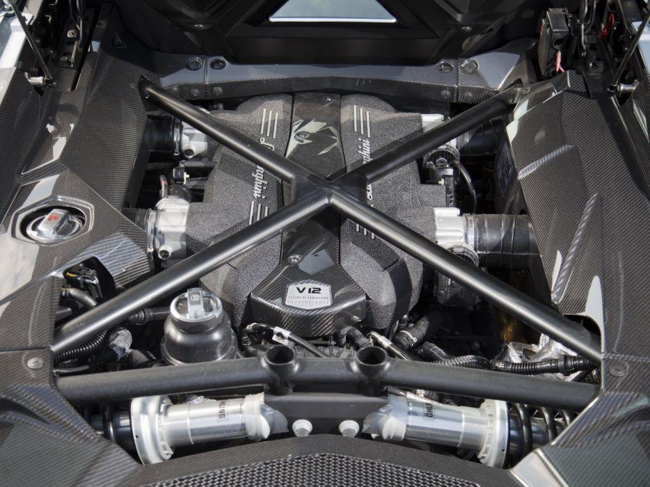 2014 Lamborghini Aventador LP700-4 Roadster US-spec (LB834) supercar g wallpaper