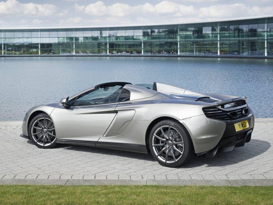 2014 McLaren MSO 650S Spyder UK-spec supercar  d wallpaper
