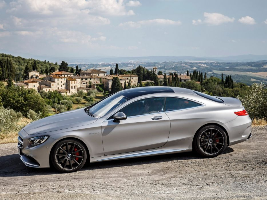 2014 Mercedes Benz S63 AMG Coupe C217  f wallpaper