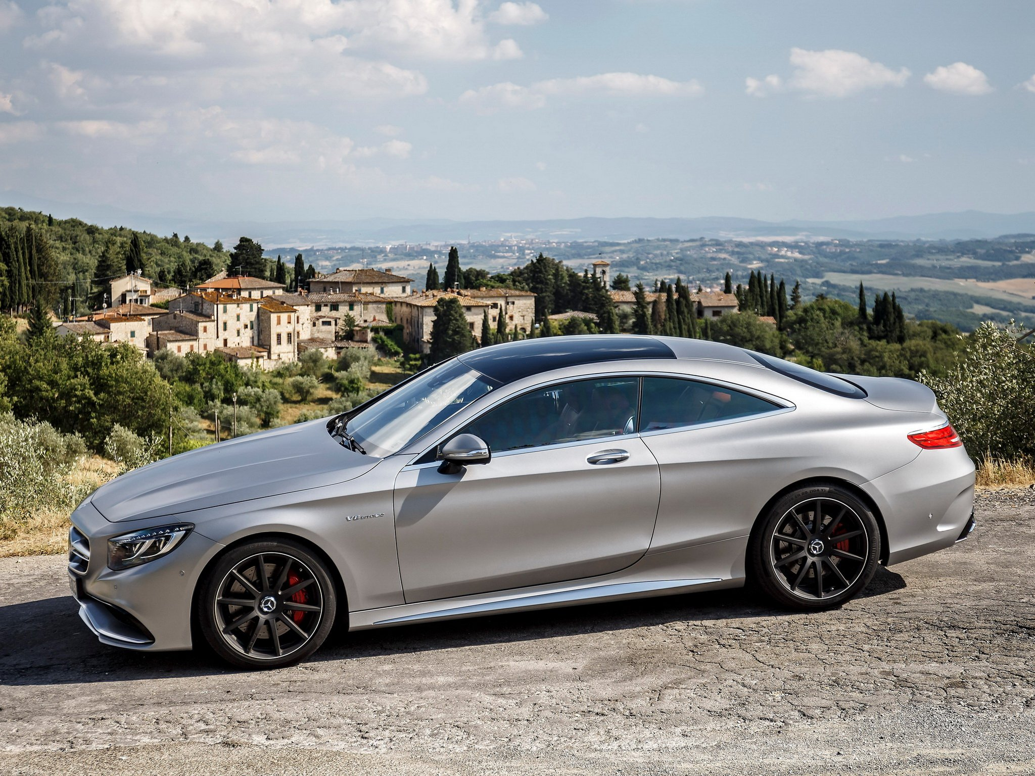 S 63 Amg Wallpaper: 2014 Mercedes Benz S63 AMG Coupe C217 F Wallpaper