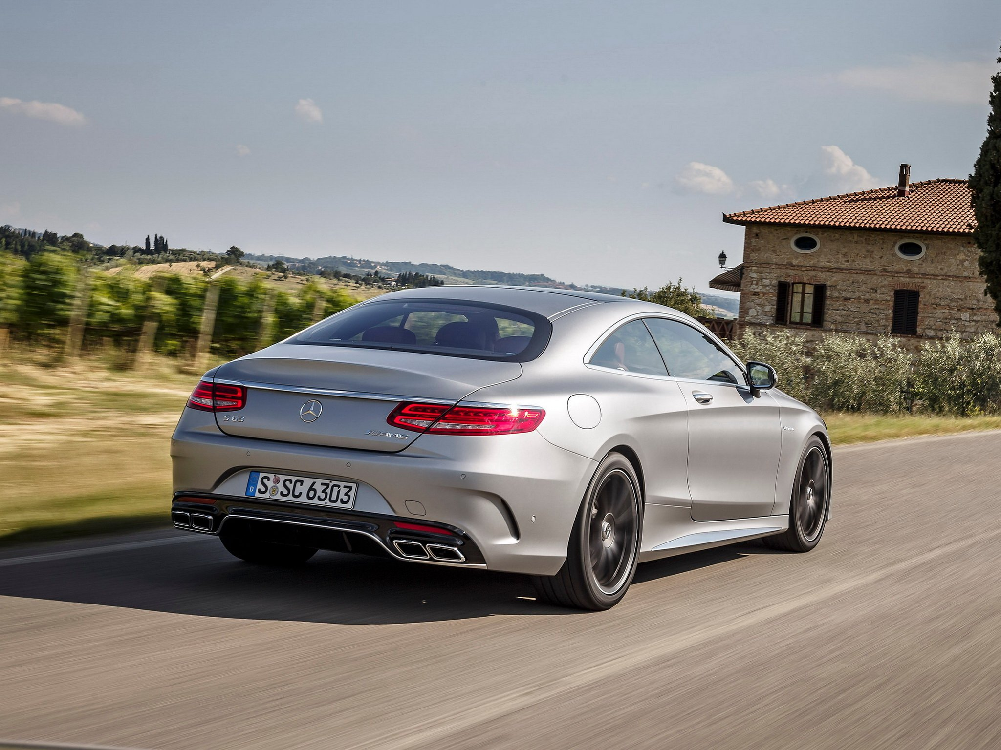 S 63 Amg Wallpaper: 2014 Mercedes Benz S63 AMG Coupe C217 Rw Wallpaper