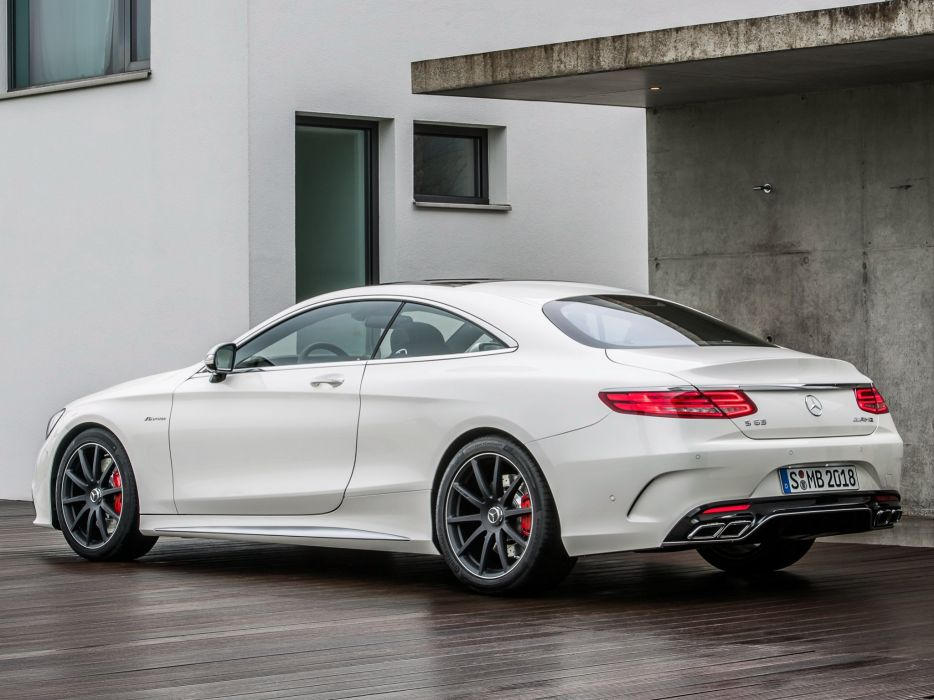 2014 Mercedes Benz S63 AMG Coupe C217  w wallpaper