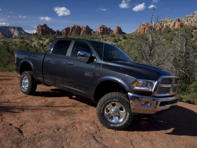2014 Ram 2500 Power Wagon Laramie 4x4 pickup ds wallpaper